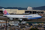 China Airlines Cargo Boeing 747F at LAX (22314611793).jpg