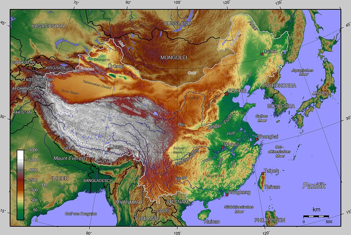 Kiinan Maantiede Wikipedia