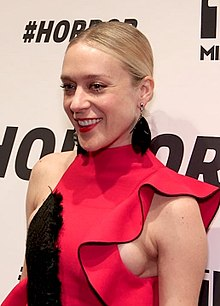 Chloë Sevigny, who plays Lana Tisdel in the film, depicted in 2010