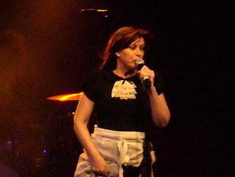 Chrissy Amphlett - Amphlett performing in 2007