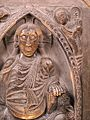 Christ in Majesty surrounded by the Tetramorph in the Basilique Saint-Sernin-IMG 1840.JPG