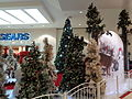 Christmas trees 2015, Valdosta Mall.JPG
