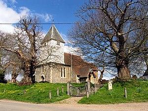 Stanford Dingley - St  Denys's parish church, next to Manor Farm