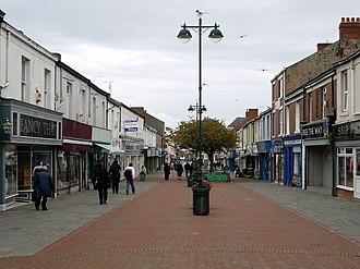 Seaham - Church Street, Seaham town centre