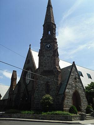Rye (town), New York - Image: Church in Rye, New York