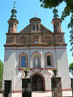Church in Zachełmie