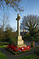 Church of St Mary Theydon Bois Essex England - War memorial reverse.jpg