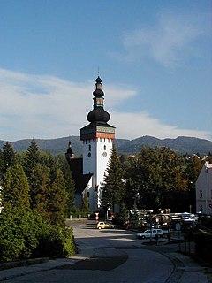 Handlová Town in Slovakia