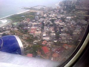 Catia La Mar - Aerial view of Catia La Mar