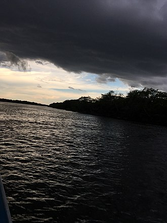 Cinaruco River - Cloudy afternoon at Cinaruco river.