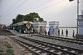 Circular Train Crossing Mayer Ghat - Baghbazar Railway Station - Kolkata 2017-04-29 1931.JPG