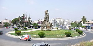 City center Famagusta roundabout