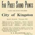 City of Kingston (steamship) advertisement and schedule 1897.JPG