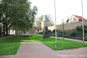 Dülken - Parts of the old city fortification