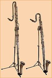 photo : clarinettes contralto et contrebasse