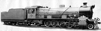 South African type MT tender - Image: Class 12A no. 1543