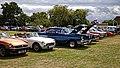 Classic car lineup at Hatfield Heath Festival 2017.jpg