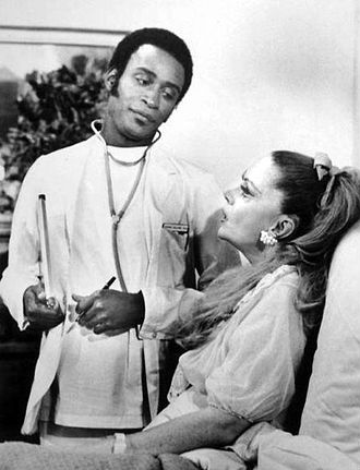 "Temperatures Rising - Cleavon Little and Jayne Meadows in episode ""Good Luck, Leftkowitz"" (1972)"