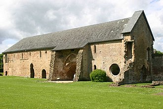 Cleeve Abbey - The Dormitory at Cleeve Abbey — viewed from the North-East