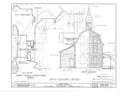 Clinton Academy, Main Street, East Hampton, Suffolk County, NY HABS NY,52-HAMTE,1- (sheet 6 of 6).png