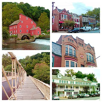 Clinton, New Jersey - Image: Clinton NJ Photo Collage