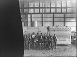 Clyde employees next to railway locomotive boiler (5570141067).jpg