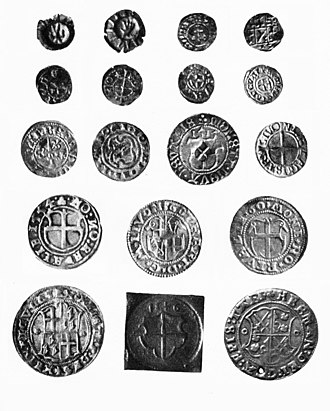Terra Mariana - Coins of Medieval Livonia, 15th–16th century