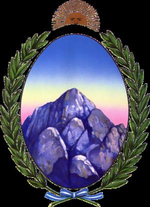Governor of La Rioja Province - Image: Coat of arms of La Rioja province