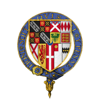 Anthony Browne (died 1548) - Arms of Sir Anthony Browne, KG