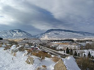 The city of Cody, Wyoming, USA