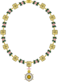 Collar of the Imperial Order of The Rose PNG Format.png