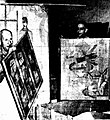 Collection of French contemporary paintings arriving at the National Art Gallery, Sydney 1953 (II).JPG