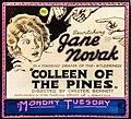 Colleen of the Pines (1922) lantern slide.jpg