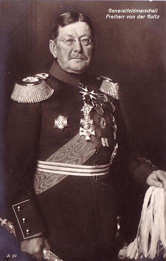 Colmar Freiherr von der Goltz - Goltz as Field Marshal