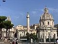 Colonne Trajane & Église Santissimo Nome Maria Foro Traiano - Rome (IT62) - 2021-08-25 - 1.jpg
