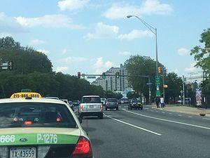 Columbus Boulevard (Philadelphia) - Image: Columbus Boulevard 2