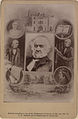 Combination photograph of the late Honourable WE Gladstone, in the centre Hawarden Castle, his posture when addressing Parliament (HS85-10-10034).jpg