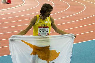 Kyriakos Ioannou Cypriot high jumper