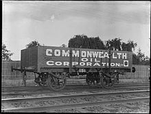 Commonwealth Oil Corporation goods wagon from The Powerhouse Museum.jpg