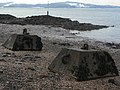 Concrete blocks on Cramond Island - geograph.org.uk - 1638851.jpg