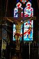 Conflans-Sainte-Honorine (78), église Saint-Maclou, Christ en croix, XIXe siècle.jpg