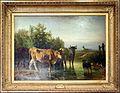 Constant troyon, bestiame che guada un ruscello, 1852, 01.jpg