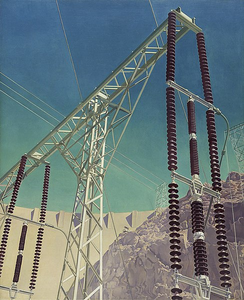 File:Conversation - Sky and Earth (1940) by Charles Sheeler, 2009-7 s.jpg