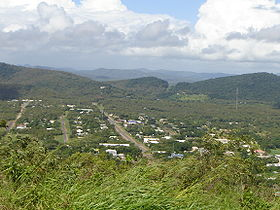 La ville de Cooktown.