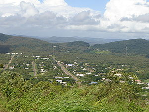 Cooktown, Queensland - View of Cooktown from Grassy Hill