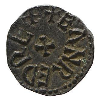 Eanred of Northumbria - Copper styca of King Eanred