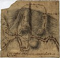 Copy of a sketch of the Monongahela, with the field of battle, LOC gm71002314.jpg