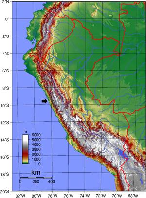 Cordillera Negra - Image: Cordillera Negra