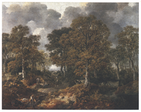 Thomas Gainsborough, Cornard Wood, near Sudbury, Suffolk, 1748
