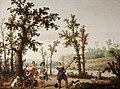 Cornelis Hendricksz. Vroom - Landscape with Hunters - MNK XII-A-573 - National Museum Kraków.jpg
